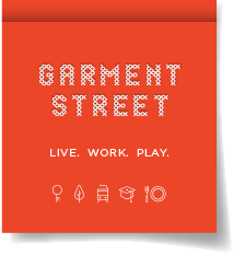 Garment Street - in the west end of the Innovation District